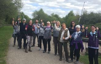 Walk number 18 - Nordic Walking Taster Session Staveley
