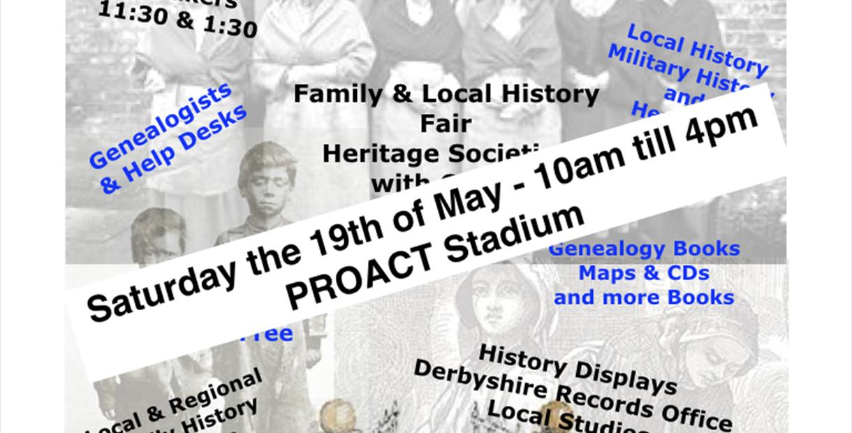 Family and Local History Fair with Heritage and Crafts