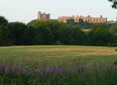 Bolsover Castle from Carr Vale Flash