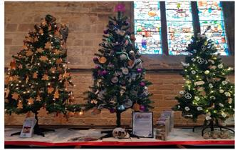 Come down to the Crooked Spire and see our Visit Peak District and Derbyshire Christmas tree!