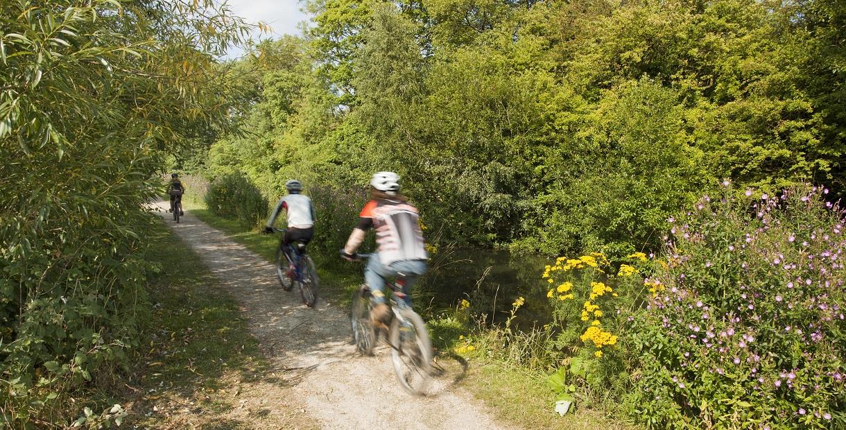Cycling on Chesterfield's Greenways