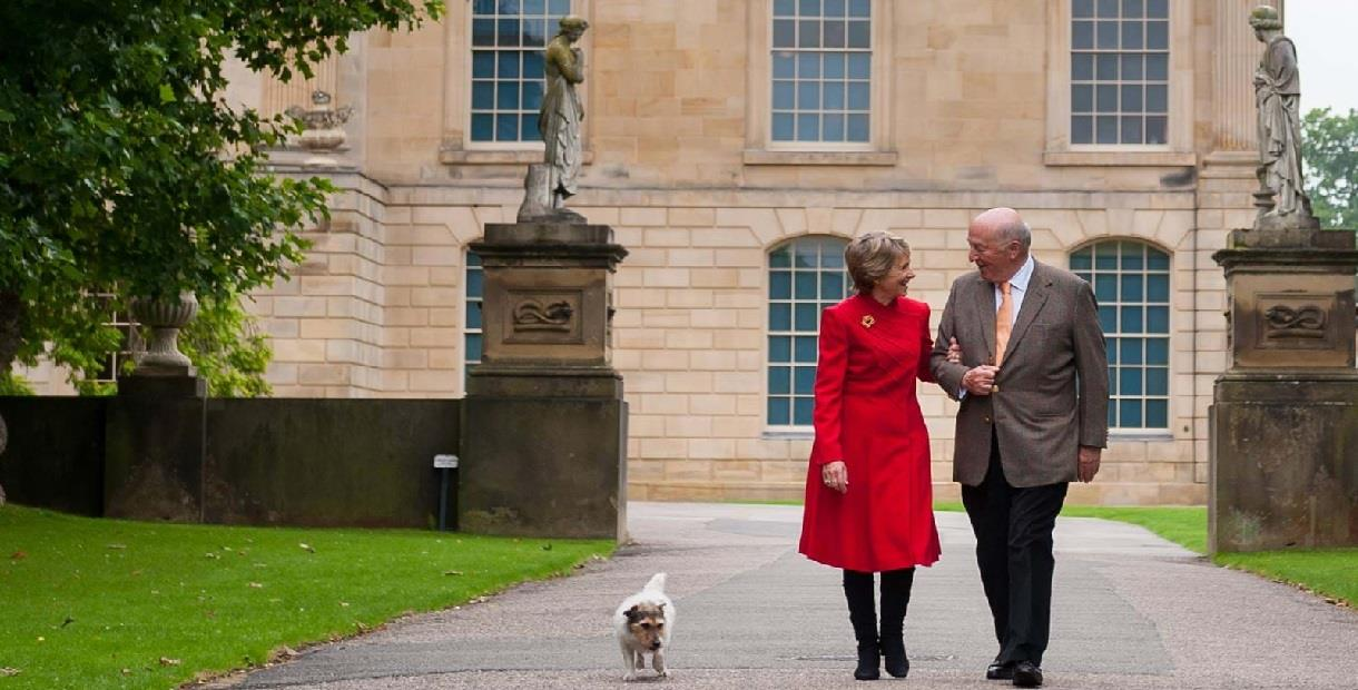 VIP tour with the Duchess of Devonshire