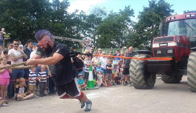 Peak District Highland Games at Matlock Farm Park