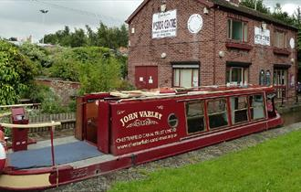 Two Hour Trips on the John Varley Canal Boat