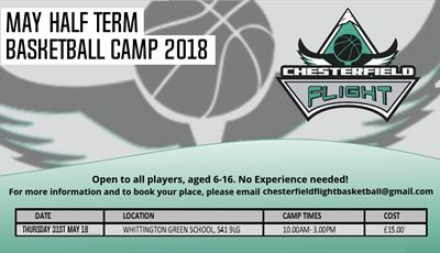May Half Term Basketball Camp