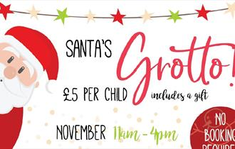 Santa's Grotto at Olympia House