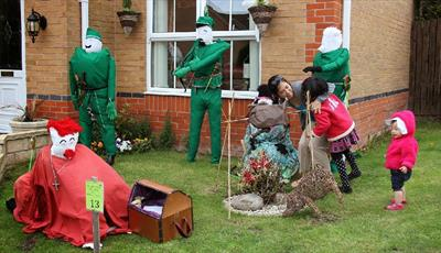 Pleasley Scarecrow Festival