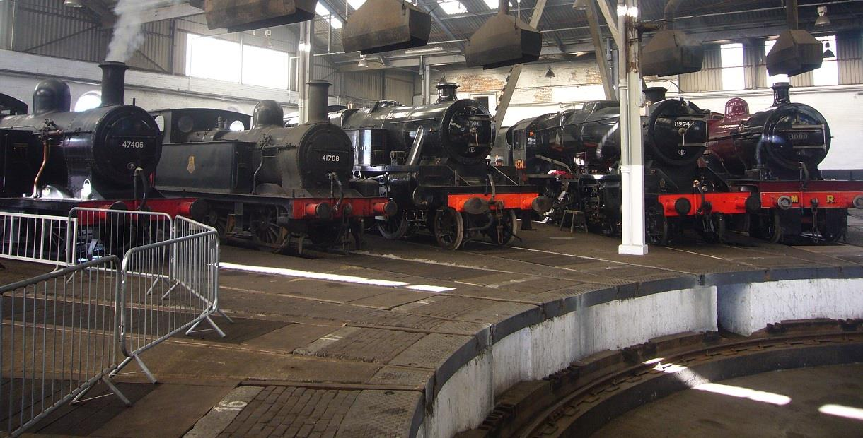 Barrow Hill Roundhouse Railway Centre