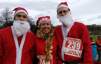 Chesterfield Santa Fun Run and Walk