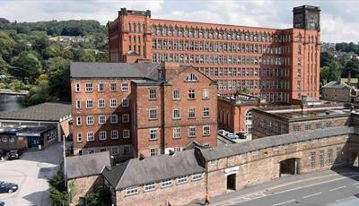 Strutt's North Mill. Belper