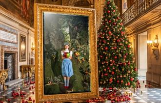 Christmas at Chatsworth, Enter a Land of Make-Believe
